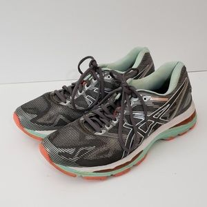 Asics Shoes Size 9.5 Gel Nimbus 19 T750N Sneakers